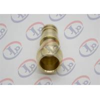 Buy cheap ø14*34 Mm Copper CNC Turned Parts Unthreaded Male Union Nipple For Sanitary Ware from wholesalers