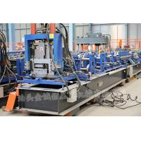 Quality 3 Roller Fast Speed CZ Exchange Purlin Roll Forming Machine With Punching for sale