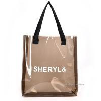Buy cheap Women's Clear Tote Shoulder Bag Transparent PVC Tote Handbag for Travel & Gym from wholesalers