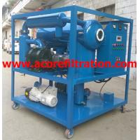 Mobile Trailer Vacuum Transformer Oil Purification Dehydration Machine