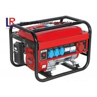 China Three Phase 2000watt Portable Gasoline Power Generator for Home with 163cc Recoil / Key Start on sale