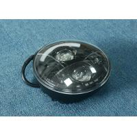 "Quality 70W 7"" Jeep LED Headlights High / Low H4 Or H13 Jeep Half Halo Ring for sale"