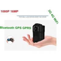Battery Operated HD Wifi Body Camera , Police Personal Body Video Camera Manufactures