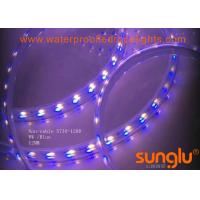 Buy cheap Blue and white double row 5730 Waterproof LED Rope Lights, 120D/M 10MM LED tape from wholesalers