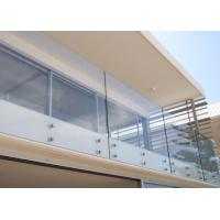 Curtain Wall Strongest Tempered Glass , High Strength 5mm Toughened Glass Manufactures