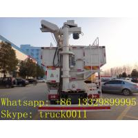 Foton Aumark 20cbm feed pellet truck for sale, best price foton 10tons electronic poultry feed delivery truck for sale Manufactures