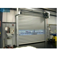 3m Height 1.2/S High Speed Spiral Door With Clear Window Manufactures