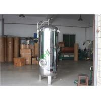 China Mirror Gloss Stainless Steel Cartridge Filter Housing RO System Purification on sale