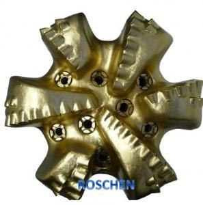 China 17 1/2 Oil Rig PDC Bits Diamond Core Drill Bit 6 Blades on sale