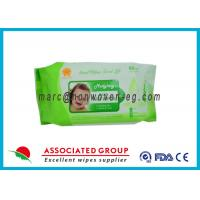 Portable Individually Wrapped Baby Wipes Organic Family Pack 80Pcs Manufactures