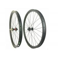 Tubuless Carbon MTB Wheels 26ER 40MM*32MM T700 / T800  Safe For Downhill Manufactures