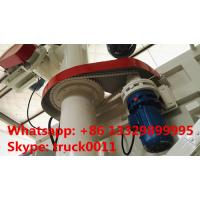 hot sale dongfeng brand LHD 190hp hydraulic system discharging lickstock fish feed delivery truck, feed delivery truck