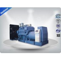MTU Engine Heavy Duty Diesel Generator 24V DC Electric 50hz 2250-2500 kw / kva Manufactures