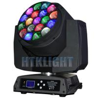 RGBW Zoom Wash LED Beam Moving Head Light With 19 Pcs 15W Osram LED Light Source Manufactures