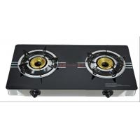 Kitchen 2 Burner Table Top Gas Stove With Tempered Glass Top Manufactures
