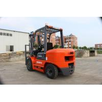 Four Wheel Diesel Powered Industrial Lift Truck With Container Mast 3.5 Ton Manufactures