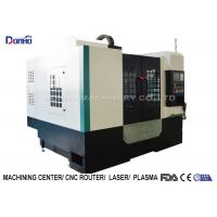 Quality 3 Color Alarming Lamp CNC Vertical Machining Center For Sanitary Ware for sale