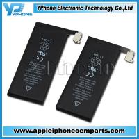 New and Original 3.7V Li - ion Black OEM Spare Batteries For iPhone 5 Manufactures