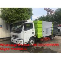 2018s YEAR-END PROMOTIONS! DONGFENG 4*2 LHD/RHD Euro 3 120hp diesel street sweeper vehicle for sale, road cleaning truck Manufactures