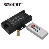 China 8 Key RGB LED Light Controller with RF Wireless Remote Controller Dimmer 12-24V on sale