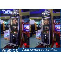 Indoor Coin Operated Electronic Dart Machine 1 Player With Automatic Calculation Manufactures
