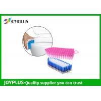 Special Design Household Cleaning Brushes , Bathroom Scrub Brush Easy Clean Manufactures