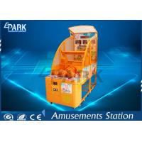 Kids Coin Operated Basketball Machines / Commercial Basketball Arcade Game 220V Manufactures