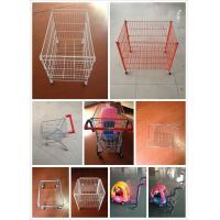 China Adjustable Leveling Feet Wire Storage Shelves , Wire Shelving With Wheels on sale