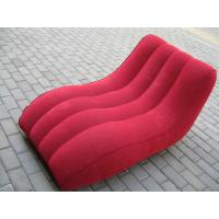 Portable Red Home Modern Inflatable Party Furniture Sofa Chair Customed Manufactures