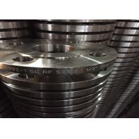 Zinc Galvanized Stainless Steel Forged Flanges Socket For Natural Gas Tansport Manufactures