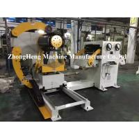 Manual Hydraulic Decoiler / Uncoiling Machine Without Coil Car 5.1 * 1.7 * 1.7m Manufactures