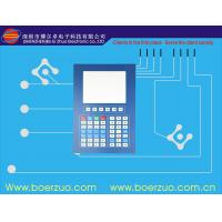 Pps Board WaterProof Membrane Switch embossed , Push Button with Clear Window Manufactures