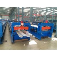 Double 1.5  Inch Chains Steel Metal Decking Tile Sheet Roll Forming Making Machine Manufactures