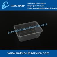 Professional china plastics thin wall packaging injection mould making Manufactures