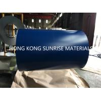 CGCC G550 0.12 X 914MM Blue Color Coated Galvanized Steel Coil ISO 9002-2010 Manufactures