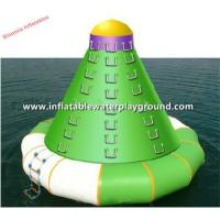 Adults Outdoor Water Games Inflatable Climbing Tower Equipment Manufactures