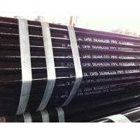 Black Paint Printed API 5L Gr.B 42.2 mm x 3.56 mm x 5.8M Seamless / LSAW / SSAW Pipe Manufactures