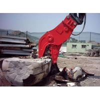 Concrete Cat Excavator Attachments No Vibration Jaws Movable Clampes Fixed Manufactures