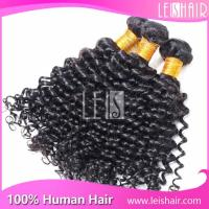 Cheap Leis hair virgin brazilian deep curl hair weaving Manufactures