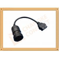 6 Pin Female OBD Extension Cable to OBDII 16 Pin Adapter Cable CK-MFTD006 Manufactures