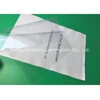 Quality Rigid PVC Binding Covers / Clear Front Report Covers Smooth Both Sides for sale