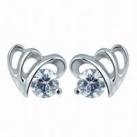 Silver Earrings, PNP Planting Surface Manufactures