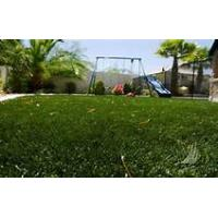Sports nylon artificial grass / fake grass squares for football field Manufactures