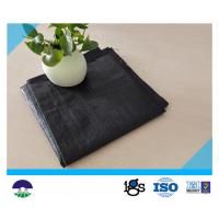 Anti-weed 100gsm woven geotextile fabric Manufactures