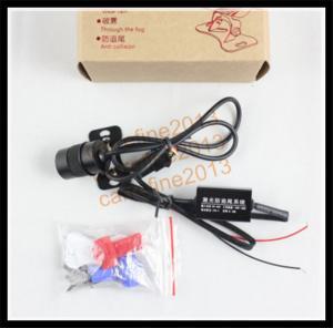 China car rear laser light anti-fog anti-collision fog light LED warning light on sale