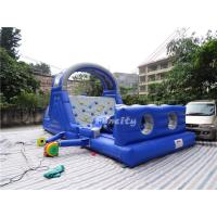 Commercial Events Kids Bounce House , Inflatable Jumping Castle With Climbing Wall Games Manufactures