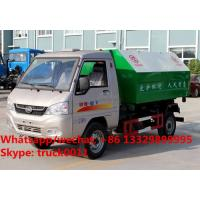 Quality Factory sale Bottom price KAMA mini 3m3 hook lift trash truck,FOT SALE! KAMA for sale