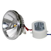 100 lm/w 10 watt ar111 high power led spotlight g53 Warm White for plaza , square Manufactures