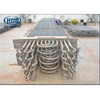 Steam Boiler Economizer , Carbon Steel Type H Finned Tube Economizer ASME Standard Manufactures