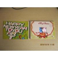 customized Perfect Christmas Paper Greetings Cards with high resolution TFT screen Manufactures